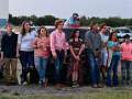 Eula classmates and families watch friends receive their diplomas at the Town & Country Drive-In May 22, 2020.